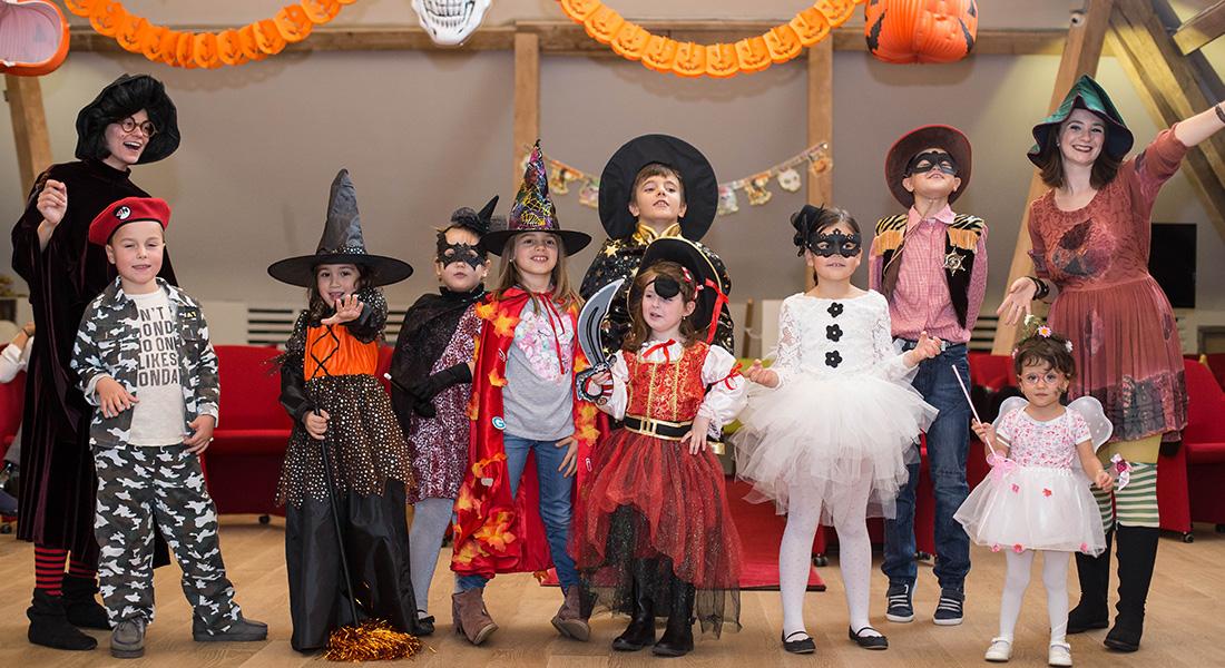 Halloween la Domeniul Manasia